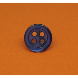Bouton nacre marine 4t 11mm