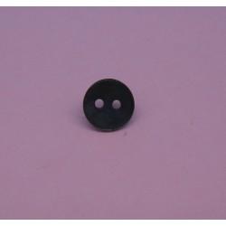 Bouton nacre agoya gris fonçé 9mm