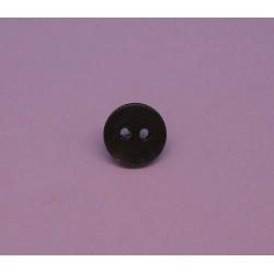 Bouton nacre agoya marron fonçé 9mm