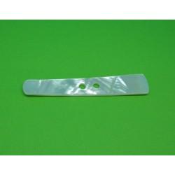Bouton nacre australienne buchette 70 x 12mm