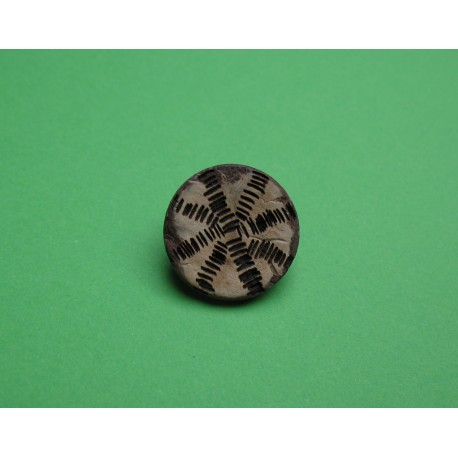 Bouton coco inca 16mm
