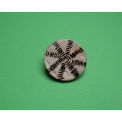 Bouton coco inca 28mm