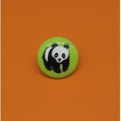 Bouton panda anis 15mm