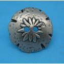 Bouton edelweiss 40mm