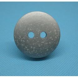 Bouton faux marbre gris 36mm