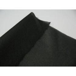 Toile thermocollante tissée noire