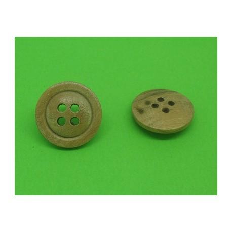 Bouton olivier semi bombé 4t 18mm