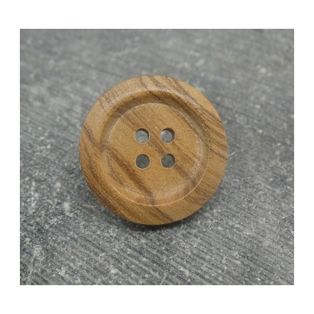 Bouton olivier 4t creux 18mm