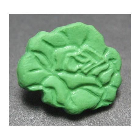Bouton salade verte 12 mm b2