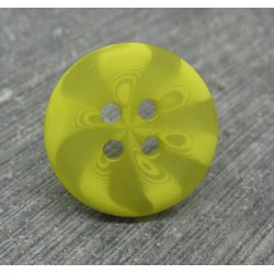 Bouton psyché jaune 18mm