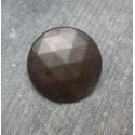 Bouton facette vieil or 28mm