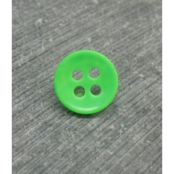 Bouton fluo vert 10mm