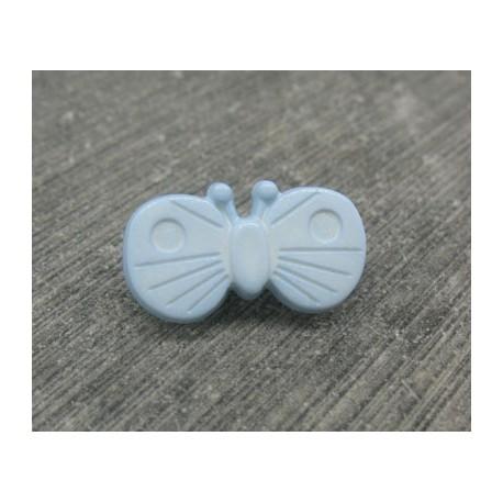 Bouton papillon ciel 18mm