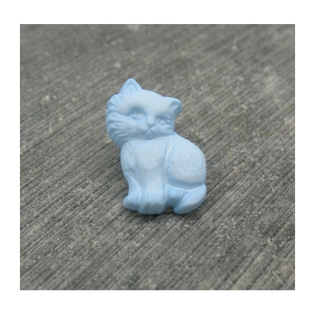 Bouton chat debout ciel 18mm