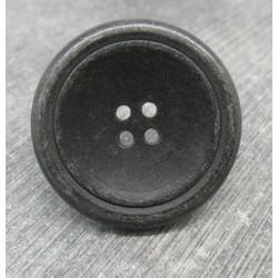 Bouton roue vieil argent 36mm