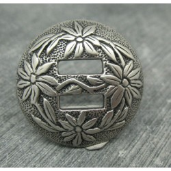 Bouton passe ruban edelweiss 31mm