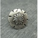 Bouton edelweiss 18mm