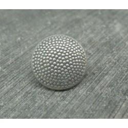Bouton pixel argent 15mm