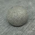 Bouton pixel argent 20mm
