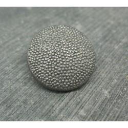 Bouton pixel argent 23mm