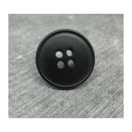 Bouton corozo noir 20mm