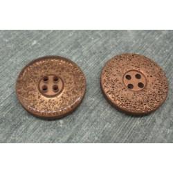 Bouton lunaire semi translucide toucher gomme 25mm