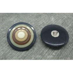Bouton cible marine 25mm
