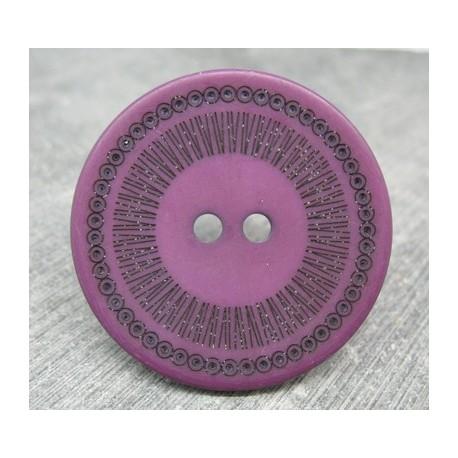 Bouton roulette violet 44mm