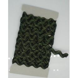Croquet noir vert fluo 10mm