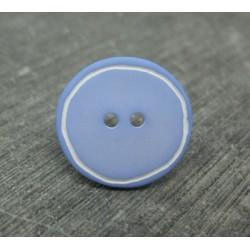 Bouton ciel cercle blanc 15mm