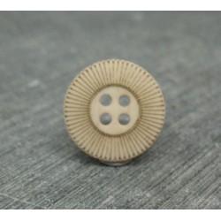 Bouton roue écru 15mm