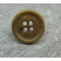 Bouton ivoire végétal olive 20mm