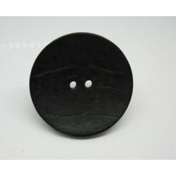 Bouton coco noir 40mm