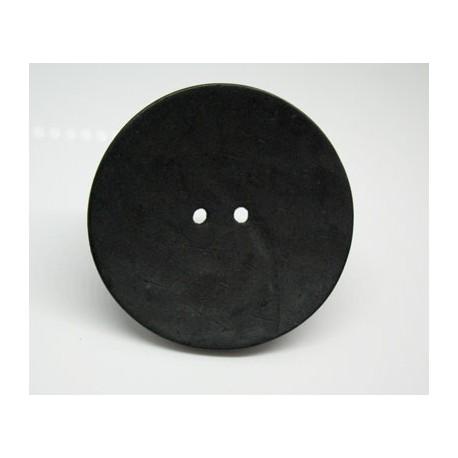 Bouton coco noir 50mm