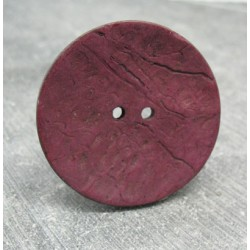 Bouton coco rouge 40mm