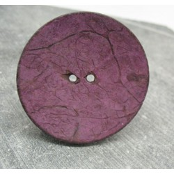 Bouton coco violet 50mm