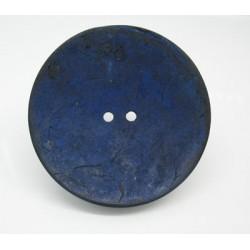 Bouton coco bleu 50mm