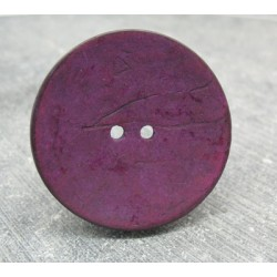 Bouton coco violet 40mm