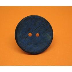 Bouton coco bleu 40mm