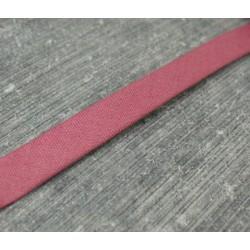 Biais coton plié fini framboise 7mm