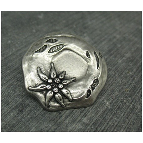 Bouton edelweiss 32mm