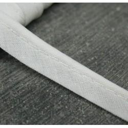 Passepoil coton blanc 10mm