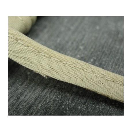 Passepoil coton beige 10mm