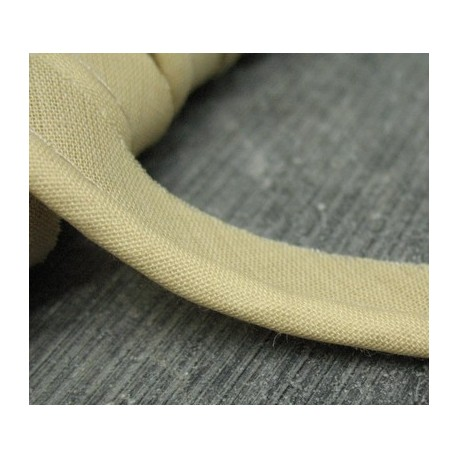 Passepoil coton beige 13mm
