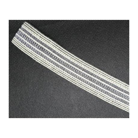 Elastique blanc 30 mm