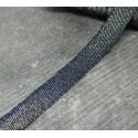 Ruban jean/lurex 10mm