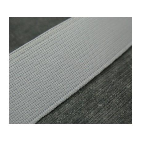 Elastique blanc 25mm