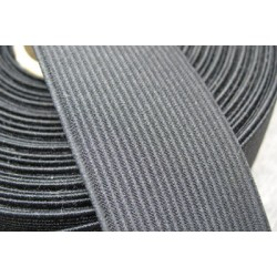 Elastique noir 35 mm