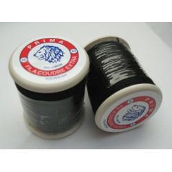 Bobine fil Prima polyester noir 250m