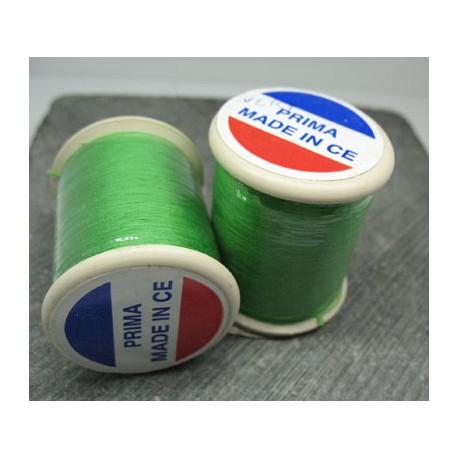 Bobine Prima coton vert 250m